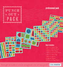 Memories Made Easy - 8x8 Carnival Punch-out Pad