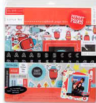Scrapbook Page Kit - Little Boy - Discontinued