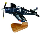 F6F Hellcat Small Wood Airplane Model