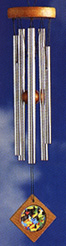 Feng Shui Wind Chime: Fortune, by Woodstock Chimes