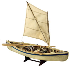 Peapod Dory Model Boat