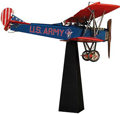 Desktop Fokker D - VII, US Army, with stand