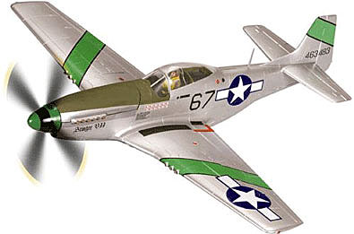 P-51D Mustang, 'Stinger VII' (Large) Diecast