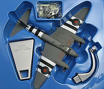 De Havilland Mosquito  inside box