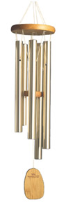 Wind Chimes of Bali: by Woodstock Chimes. Cherry wood, Champagne Tubes