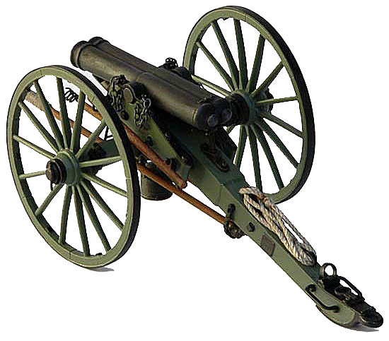Double Barrel Cannon Metal Kit