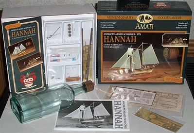 Hannah Ship in Bottle Kit