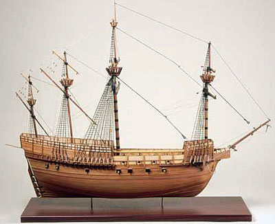 Mary Rose Side View