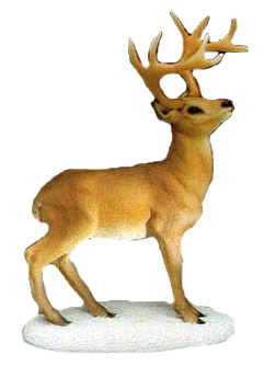 Stone Critters: White Tail Buck