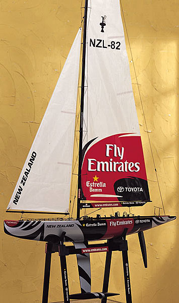 Etnz 1m America S Cup Remote Control Racing Yacht Sailboat