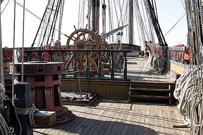 HMS Surprise / Rose (Replica) - San Diego - Deck