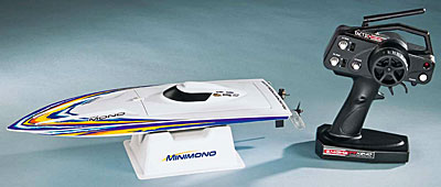 Remote Control Minimono Brushless 2.4GHz Model Racing Boat