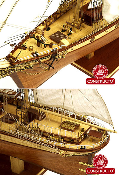 Cutty Sark Kit Detail