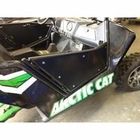 12-13 Arctic Cat Wild Cat Pro One iTi Full Doors Steel Frame with Aluminum Skins