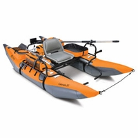 Colorado Xt Pontoon Boat - Pumpkin-Gray