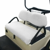Golf Car Seat Cover - White