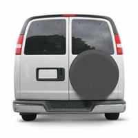 Universal Spare Tire Cover Gray Large