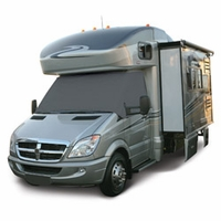 RV Windshield Cover Gray Model 1