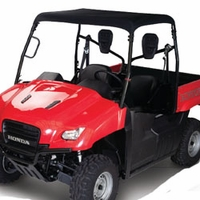 Honda Big Red UTV Roll Cage Top - Black