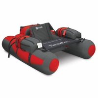 Kennebec Float Tube Red