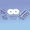 Torsion Style Hood Pins Kit