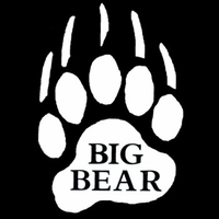 Big Bear Vinyl Decal / Sticker