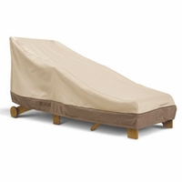 "Classic Patio Day Chaise Cover - Wider Chaises up to 78""L x 36""W"