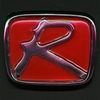 "Honda Type ""R"" Emblems Chrome & Red Free Shipping!"
