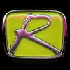 "Honda Type ""R"" Emblem Chrome & Yellow Free Shipping!"