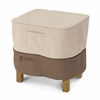 Classic Veranda Ottoman-Side Table Cover - Small Square 21""