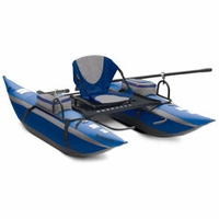 Delaware Pontoon Boat Blue