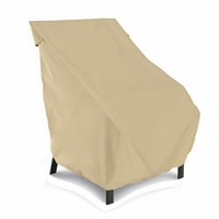 Classic Terrazzo Patio Chair Cover - High Back