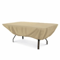 "Classic Terrazzo Patio Table Cover Rectangular-Oval 72""H x 44""W"