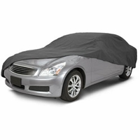 Polypro 3 Sedan Cover Charcoal - Compact