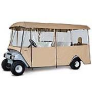 Classic Deluxe 6-Passenger Golf Car Enclosure