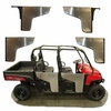 09-14 Polaris Ranger Crew 800 Pro One iTi Full Swing Doors Steel Frame Alum Skin