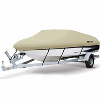 Dry Guard Boat Cover Tan  Model F