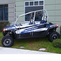 Pro One / iTi Full Doors For<BR>10-14 Polaris RZR 4 Crew