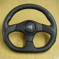 "04-09 Yamaha Rhino Black 3 Spoke 14"" Steering Wheel & Adapter"