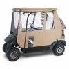 Delulxe 3-Sided Golf Car Enclosure - Sand