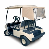 Golf Car Club Canopy - Sand