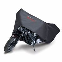 Motorcycle Dust Cover Black  -Sport