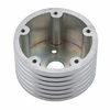"""Polished 2"""" Spacer 3 hole adapter to 5 hole Grant"""