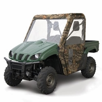 09-On Polaris Ranger XP / HD UTV Enclosure - Hardwoods HD