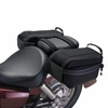 Motorcycle Saddle Bags - Black