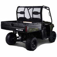 02-09 Polaris Ranger UTV Rear Window - Black