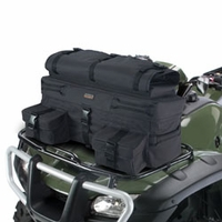 Classic ATV Armor-X Front Rack Bag - Black