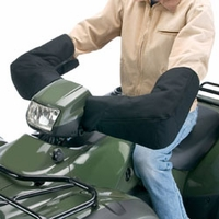 Classic ATV Protection Mitts - Black