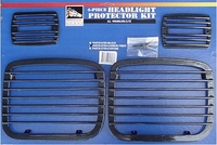 87-95 YJ Jeep Wrangler Headlight Protector Set