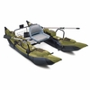 Colorado  Pontoon Boat - Green-Black